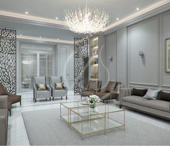 Interior Designing Of A Villa