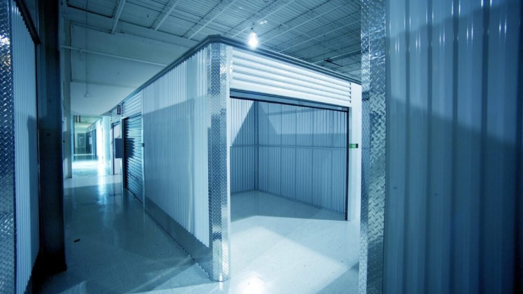 What security systems are there in storage spaces